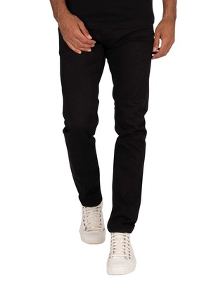 Pepe Jeans Hatch Slim Jeans - Black Denim