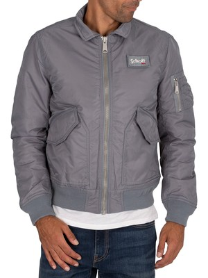 Schott Bomber Jacket - Grey