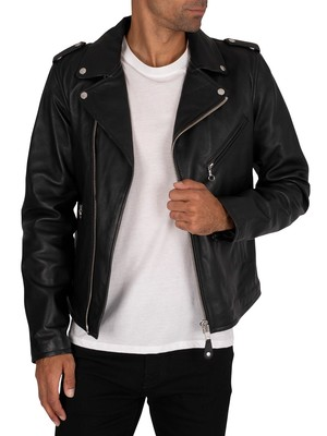 Schott Perfecto Leather Jacket - Black