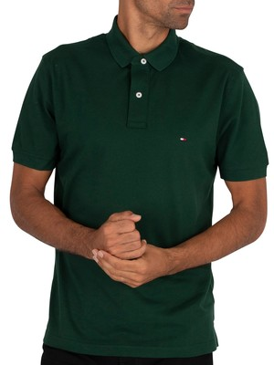 Tommy Hilfiger Regular Polo Shirt - Hunter