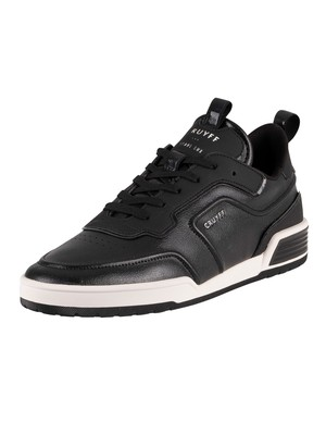 Cruyff Calcio BCN Leather Trainers - Black