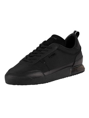 Cruyff Contra Leather Trainers - Black