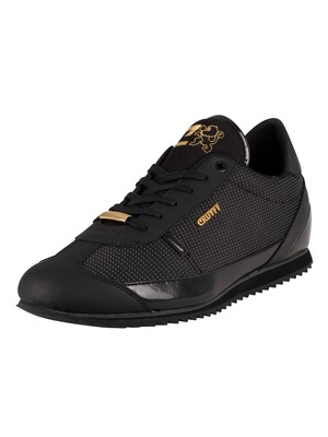 Cruyff Montanya Leather Trainers - Black