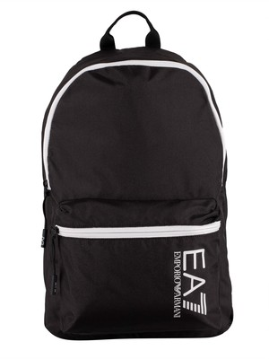 EA7 Train Core Backpack - Black/White