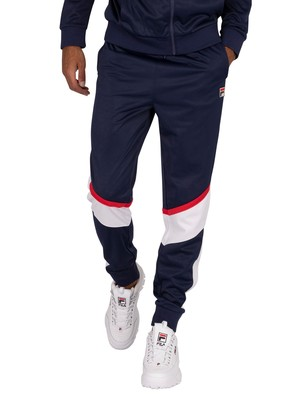 Fila Anik Colour Blocked Joggers - Peacoat/White/Red