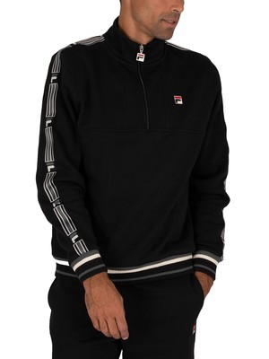 Fila Murray 1/4 Zip Track Jacket - Black