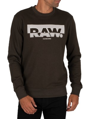G-Star Raw Block Raster Sweatshirt - Asfalt