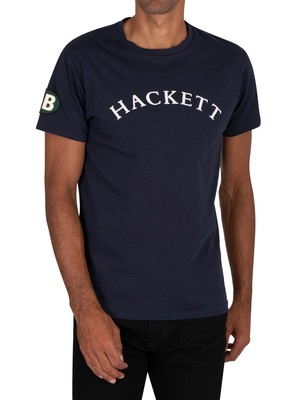 Hackett London GBK Graphic T-Shirt - Navy