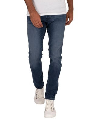 Jack & Jones Glenn Original 812 Slim Jeans - Blue Denim