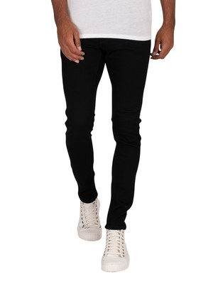 Jack & Jones Liam Original 009 Skinny Jeans - Black Denim
