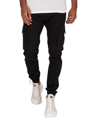Jack & Jones Paul Flake 542 Cargos - Black