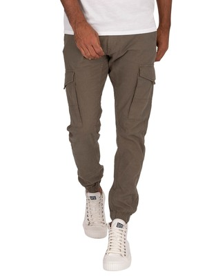 Jack & Jones Paul Flake 982 Cargos - Olive Night