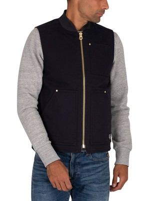 Jack & Jones Wally Bodywarmer Jacket - Dark Navy