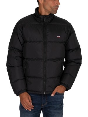 Levi's Fillmore Short Puffer Jacket - Jet Black