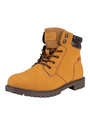Levi's Hodges 2.0 Leather Boots - Medium Yellow