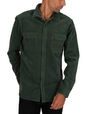 Levi's Jackson Worker Shirt - Python Green