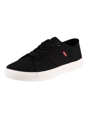 Levi's Pillsbury Canvas Trainers - Regular Black