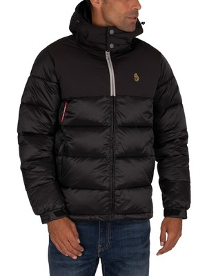 Luke 1977 Hodges Railing Puffer Jacket - Jet Black