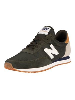 New Balance 720 Suede Trainers - Dark Olive/Workwear