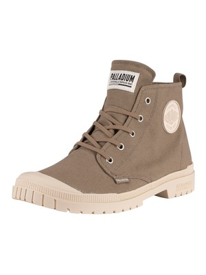 Palladium Pampa SP20 Hi Canvas Boots - Dusky Green