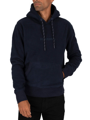 Superdry Polar Fleece Hoodie - Nautical Navy