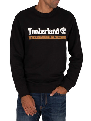 Timberland Established 1973 Sweatshirt - Black