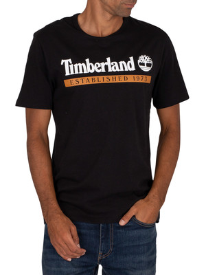 Timberland Established 1973 T-Shirt - Black