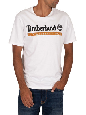 Timberland Established 1973 T-Shirt - White