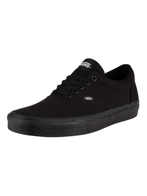 Vans Doheny Canvas Trainers - Black/Black