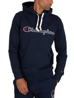 Champion Graphic Pullover Hoodie - Navy