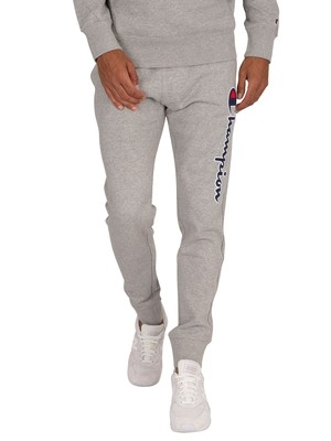 Champion Leg Logo Joggers - Grey