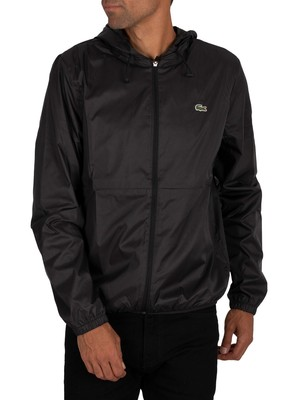 Lacoste Sport Lightweight Jacket - Black