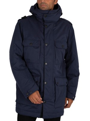 MA.STRUM Parka Jacket - True Navy