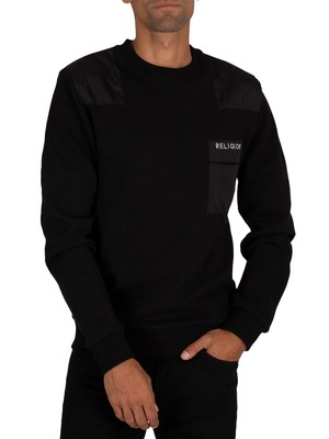 Religion Barrage Sweatshirt - Black