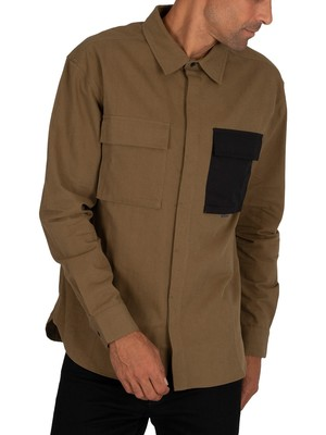 Religion Infantry Shirt - Dark Olive