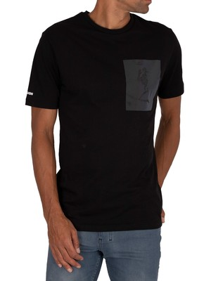Religion Iridescent T-Shirt - Black