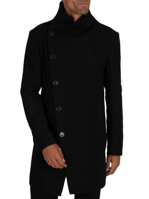 Religion Noirex Coat - Black