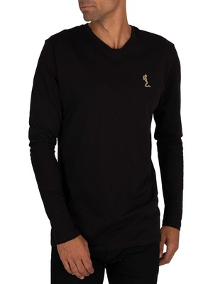 Religion Perseus Longsleeved T-Shirt - Black