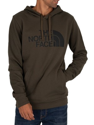 The North Face Half Dome Pullover Hoodie - New Taupe Green