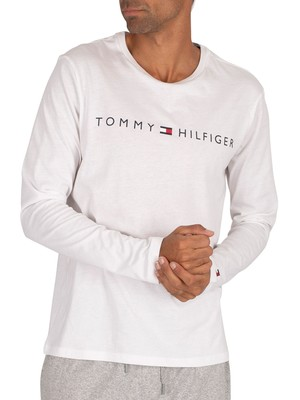Tommy Hilfiger Lounge Longsleeved T-Shirt - White