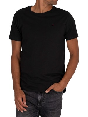 Tommy Jeans Original Jersey T-Shirt - Black