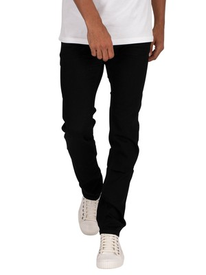 Tommy Jeans Scanton Slim Jeans - New Black Stretch