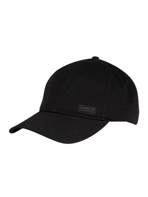 Barbour International Sports Baseball Cap - Black