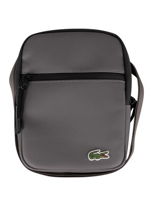Lacoste Flat Crossover Bag - Smoked Pear Noir
