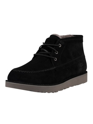 UGG Campout Chukka Suede Boots - Black