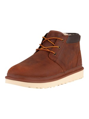UGG Neumel Utility Leather Boots - Gingerbread