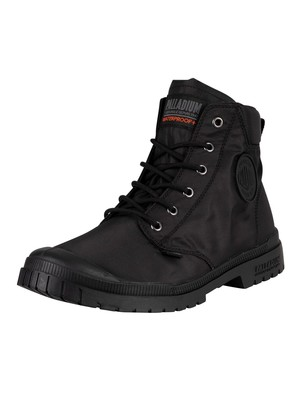 Palladium Pampa SP20 Cuff WP+ Boots - Black/Black