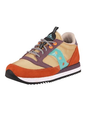Saucony Jazz Original Peak Trainers - Curry/Ginger