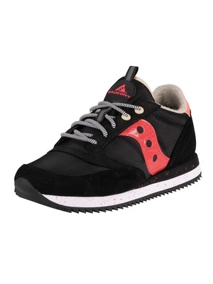 Saucony Jazz Original Peak Trainers - Black/Vizipink