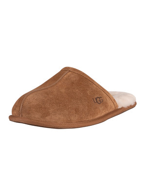 UGG Scuff Suede Slippers - Chestnut